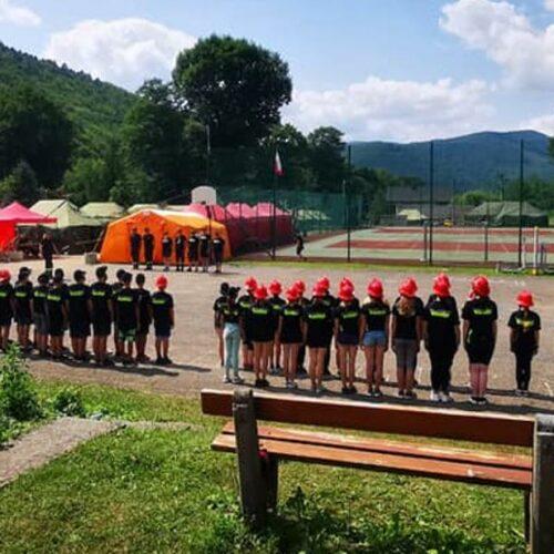 Obozy Szkoleniowe dla Młodzieżowych Drużyn Pożarniczych