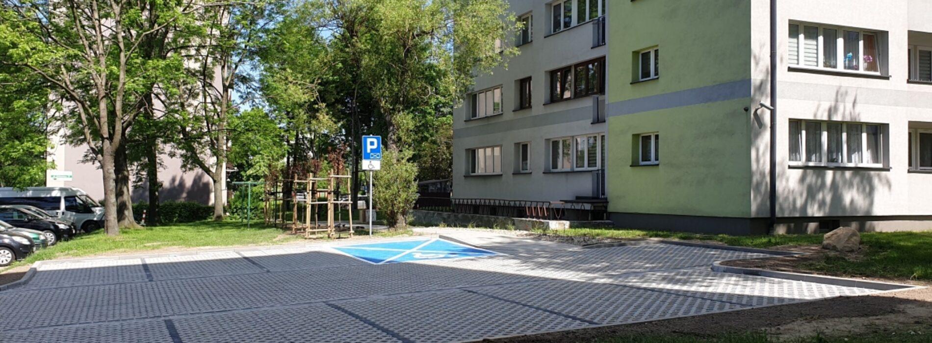 Nowy parking na osiedlu Kopernika
