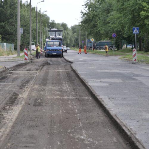 Przebudowa ulic