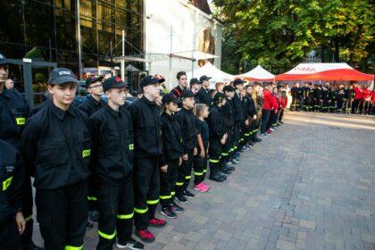 Młodzi podtrzymują strażacką tradycję